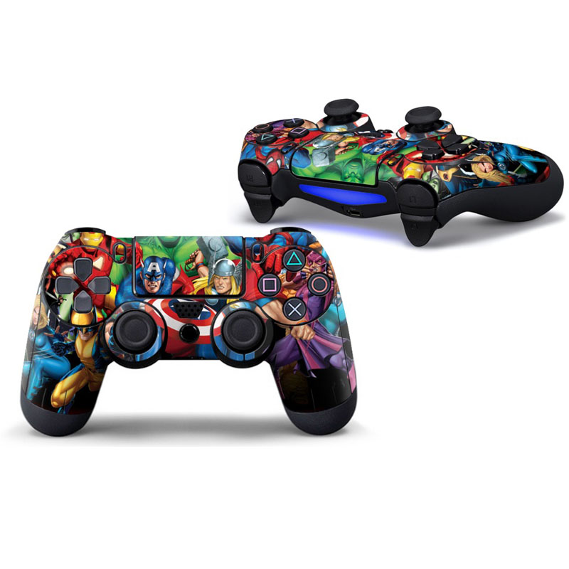 super-hero-protective-cover-sticker-for-ps4-controller-skin-for-font-b-playstation-b-font-4-decal-accessories