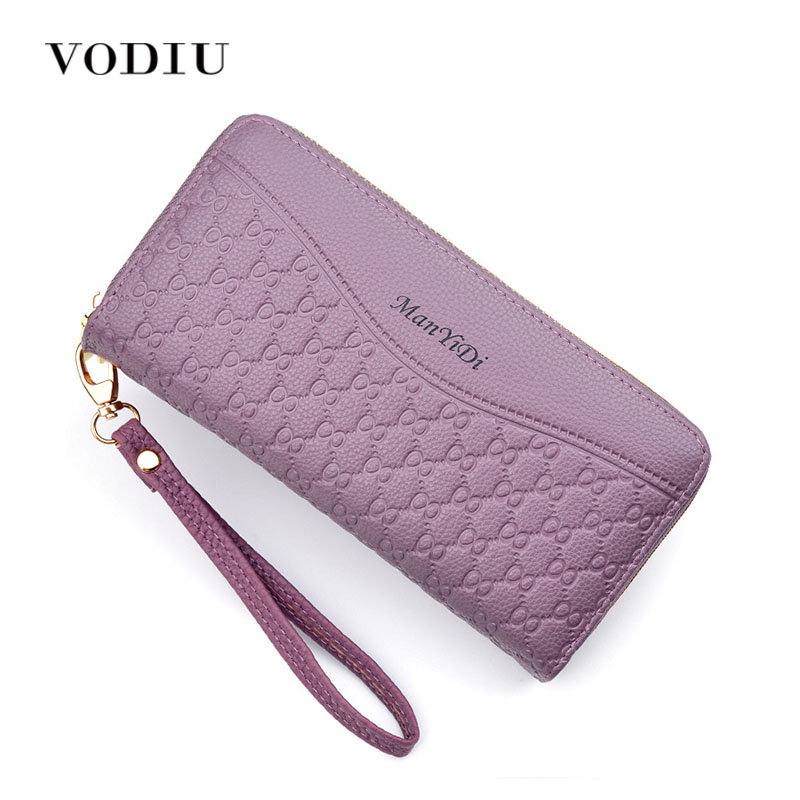 Women's Wallet Women Purses Women's Fashion Clutch Long Phone Thin Leather Wallet Coin Purse For Women Female Wallets