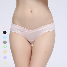 Maternity panties for pregnant women underpants panty for pregnant panties cotton maternity underwear pregnancy briefs(China)