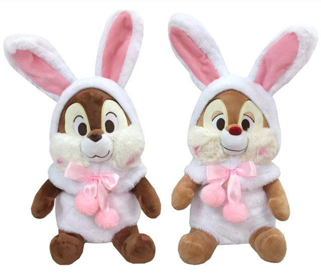 Easter Rabbit Bunny Chicken Dress Chip And Dale Chipmunks Plush Toy
