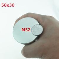1pcs Magnet 50x30 Mm N52 Neodymium Magnet 50 30 Mm Round Super Strong Magnets 50mmx30mm Rare