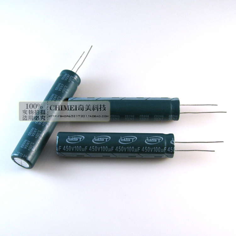 Electrolytic capacitor 450V 100UF 60X13MM LCD TV LED capacitors ...