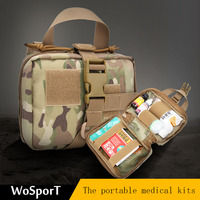 WoSporT medical kits portable household survival survival individual small emergency first aid kit jedi army lost package
