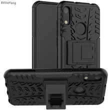 For Huawei Y6 2019 Case Anti Shock Impact Hard Armor Case Cover bumper coque for Huawei Y6 2019 MRD-LX1F Y 6 Prime Y6 Pro 8A 8a(China)