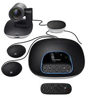 Logitech CC3500E Group Video Conferencing Bundle with Expansion Mics, HD 1080p Camera, Speakerphone