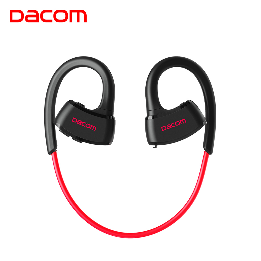 Dacom P10 IPX7 waterproof running ear headset stereo sport earphone wireless bluetooth headphone for phone consumer electronics original dacom g18 sports bluetooth headset stereo auriculares wireless headphone running ear hook waterproof earphone with mic
