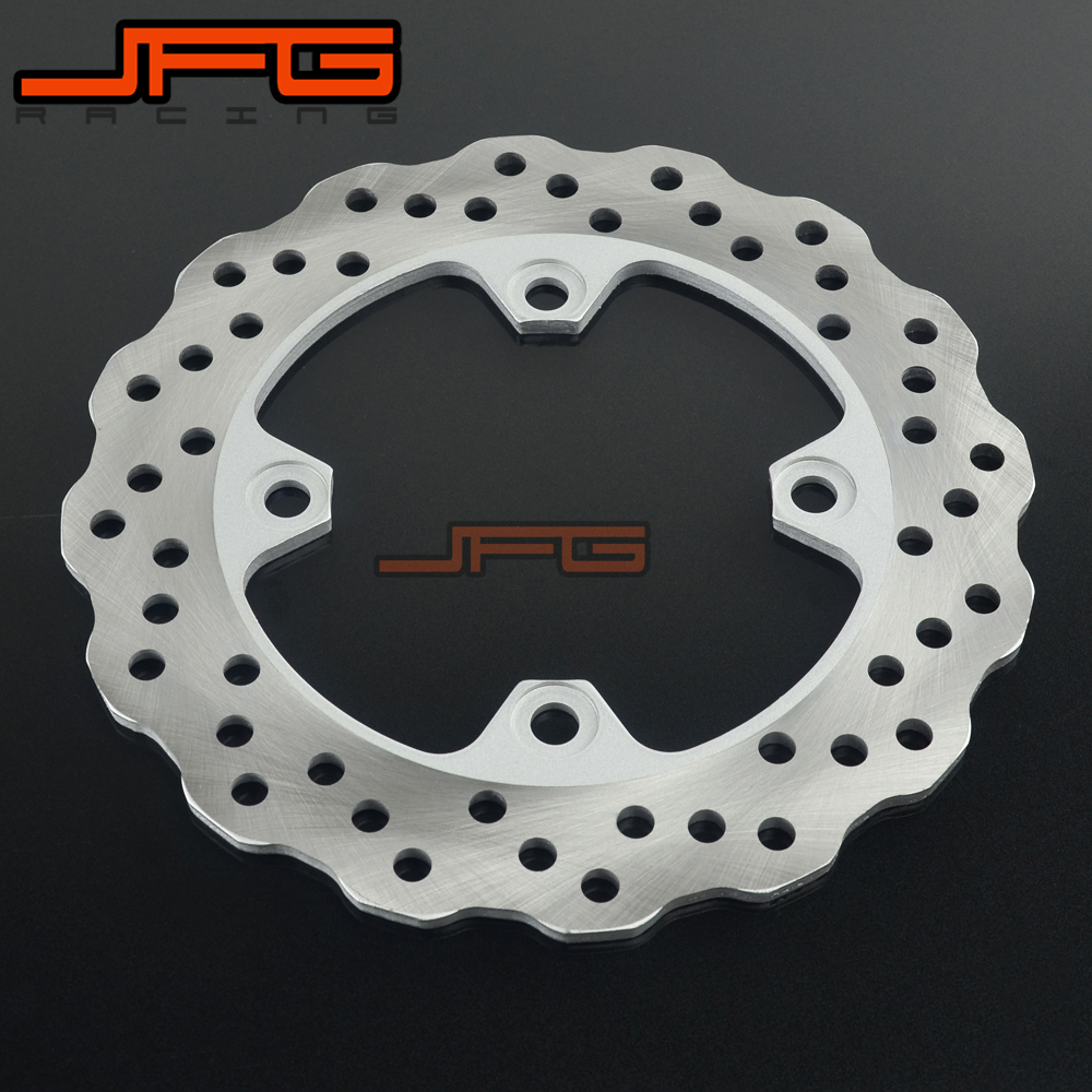 Motorcycle Outer Diameter 220mm Stainless Steel Rear Brake Disc Rotor For KAWASAKI ZX6R 98-15 ZX6RR ER-6N Z750 ZX9R Z1000 ZX-10R outer diameter 245mm stainless steel rear brake disc rotor for yamaha yzf600 xt660 xtz660 tdm850 trx850 tdm900 yzf1000 yzf r1