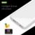 Banco de la energía 10000 mAh Portable Caso de la Piña De Li-Polímero Powerbank Cargador de Batería Externa Para Todos Los Teléfonos