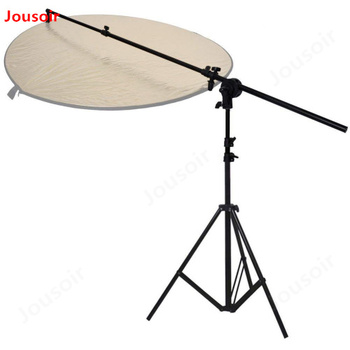 Heavy Duty 3m Adjustable Light Stand and Telescopic Collapsible Reflector Panel Holde photo studio CD15