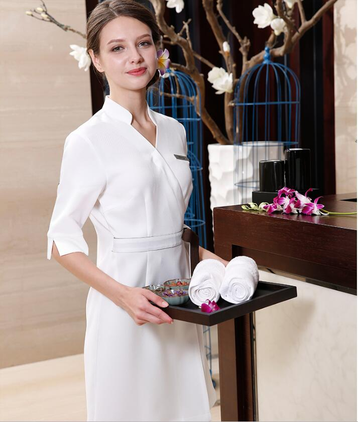 Massage SPA clothing fabrics steaming natural fabrics of Japanese beach gown health club in Fabric from Home Garden