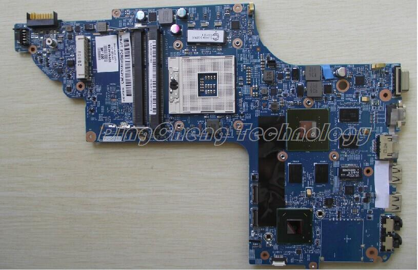 Подробнее о laptop Motherboard For hp pavilion DV6-7000 DV7-7000 682016-001 for intel cpu with 8 video chips non-integrated graphic card 682168 001 free shipping laptop motherboard for hp pavilion dv6 7000 motherboard with gt63om 2g graphic card 100
