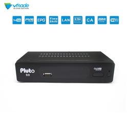 Vmade новейший FTA full HD цифровой Декодер каналов кабельного телевидения DVB S2 Плутон S9 CCcam спутниковый приемник прием тюнер Receptocoder Media Player