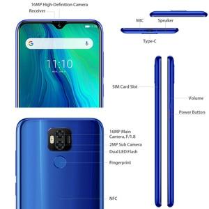 """Image 5 - Déverrouillage du visage avec empreinte digitale Ulefone Power 6 Android 9.0 octa core 6.3 """"Smartphone 4GB 64GB 6350mAh NFC LTE 4G téléphone Mobile double SIM"""