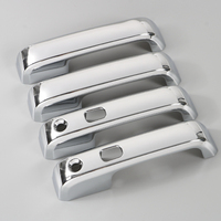 High Quality Car Styling ABS Chrome Door Handle Cover Trimss Shell Fit For Jeep Ford F150