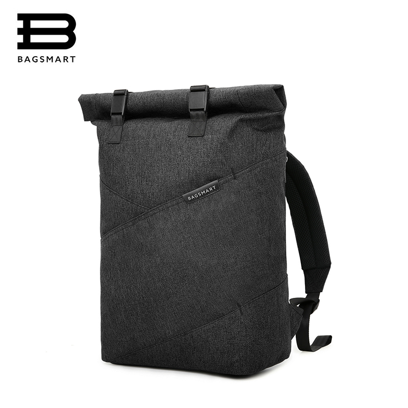 BAGSMART Laptop Backpack Lightweight Travel Daypack Fits 15.6 -Inch Laptop and Notebook Black,Grey,Blue рюкзак cullmann ultralight sports daypack 300 grey c99441