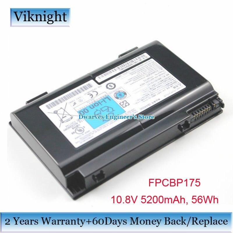 D'origine 10.8 V FPCBP175 Batterie pour Fujitsu LIFEBOOK A1220 A6210 AH550 E8410 FPCBP176 FPCBP176AP FPCBP198 Batterie 5200 mAh 56Wh