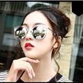 2017 Fashion Multicolour Mirror Glasses Sunglasses Women Vintage Sunglasses Women Brand Designer Sun Glasses feminino 9156
