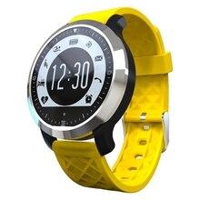F69 Reloj Inteligente A Prueba de agua IP68 Gimnasio Rastreador Pulsera Natación y Monitor de Ritmo Cardíaco Saludable Smartwatch Para Android IOS teléfono