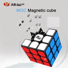 цена на YJ MGC 3x3x3 Magnetic Magic Cubes YongJun MGC Puzzle Speed Cube Magnets Neo Cubo Magico Educational Toys For Children