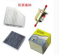 BYD S6 air + quatro filtros de ar condicionado + gasolina + filtro de Óleo Frete grátis