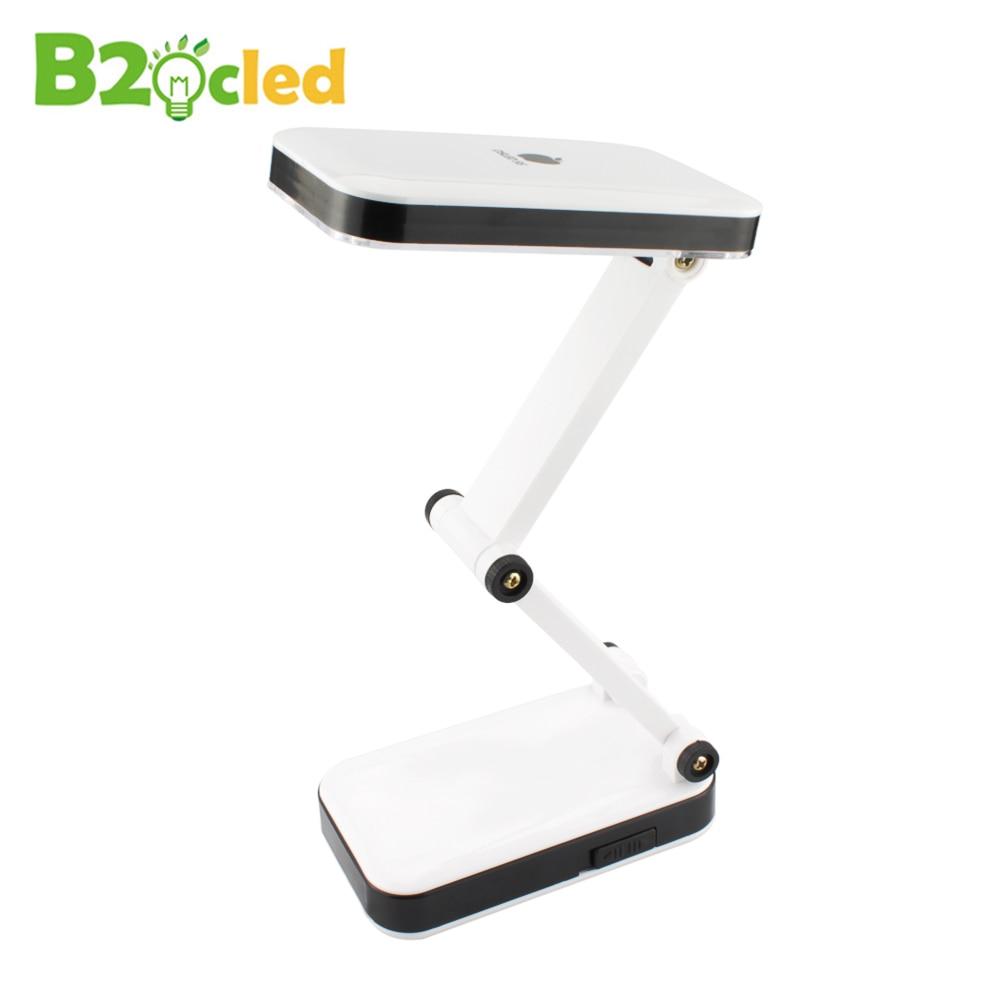 Modern foldable adjustable desk lamps rechargeable led for Wohnzimmerleuchten led modern