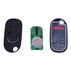 Image 5 - 2 + 1 כפתורי Keyless כניסה מרחוק מפתח עבור הונדה NHVWB1U521 433Mhz עבור הונדה סיוויק 2001 2002 2003 2004 2005 NHVWB1U523 עיני