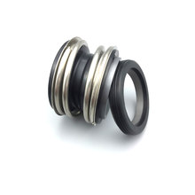 12-65 Mm ID Pompa Air Seal Poros Mekanik Single Coil Spring Silikon Karbida Graphite Seal(China)