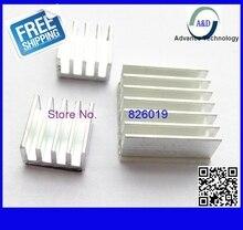 6pcs/lot free shipping For Cooling Raspberry Pi 2 B Heatsink Cooler Pure Aluminum Sink Set Kit with Adhesive