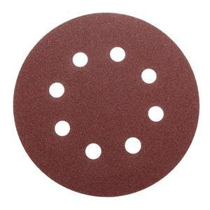 Image 4 - 10Pcs 125mm Grit Round Shape Sanding Discs Buffing Sheet Sandpaper 8 Hole Sander Polishing Pad 80/180/240/320/1000/1500/2000