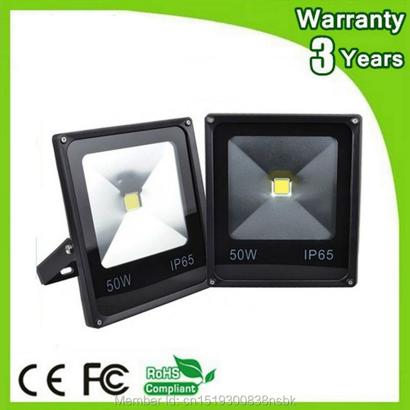 (12PCS / Lot) 3 års garanti 100-110LM / W 10W 20W 30W 50W DC12V 24V LED Flood Light LED Floodlight 12V Outdoor Tunnel Bulb