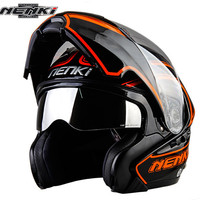 Modular Motorcycle Helmet Flip Up Capacetes De Motociclista Moto Helmets For Motorcycle NENKI 815 Racing Helmets