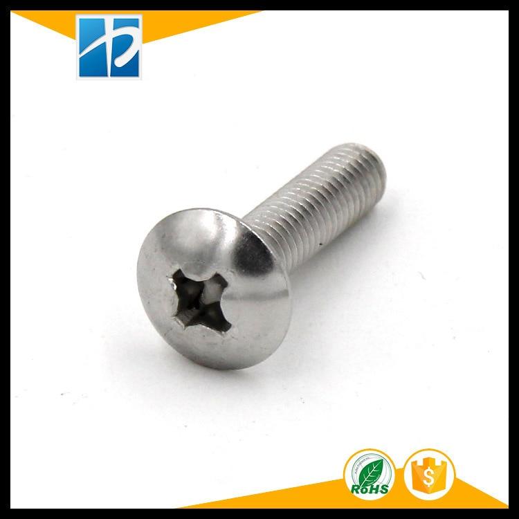 (50 pc/lot) metric thread M2,M2.5,M3 *L Stainless Steel Phillips Truss Head model Electric machine diy Screw m3 brass phillips pan head machine screw