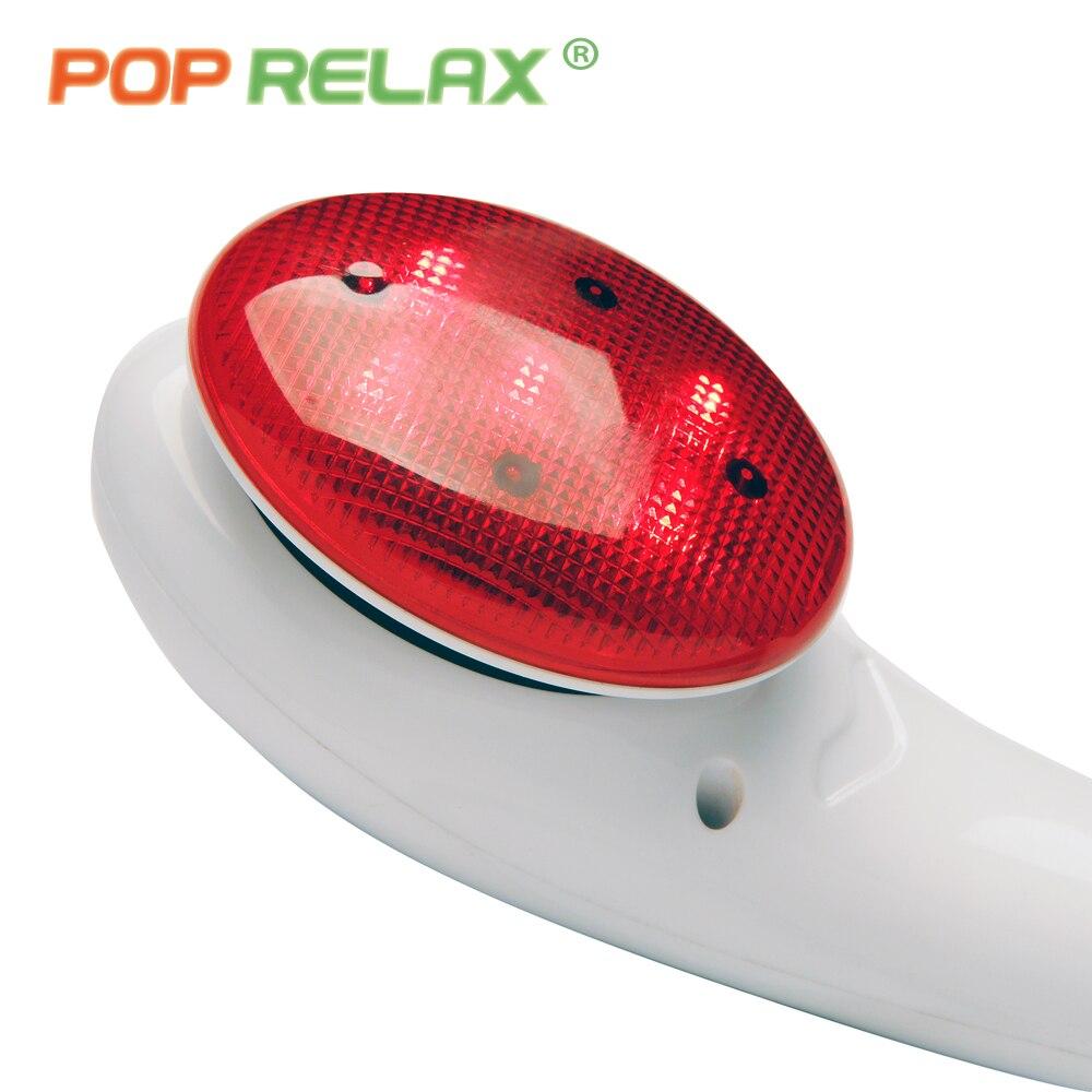 POP RELAX électrique vibrant masseur vibrateur lumière rouge chauffage thérapie corps relax massage à main marteau dispositif masseur