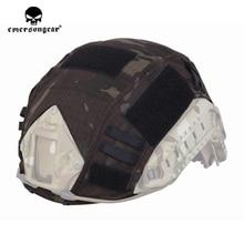 emersongear Emerson Tactical FAST Helmet Cover Hunting Camo Headwear MCBK