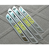 High Quality Stainless Steel Slim Scuff Plate Door Sill Fit For Peugeot 308 3008 408 2008