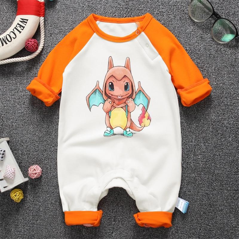 2017 Anime Lindo Bebé Recién Nacido Mameluco Infantil Bebé Niños - Ropa de bebé - foto 2