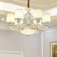 Роскошная люстра освещение гостиная современный дизайн Лофт люстра украшение дома Крытый осветительное оборудование