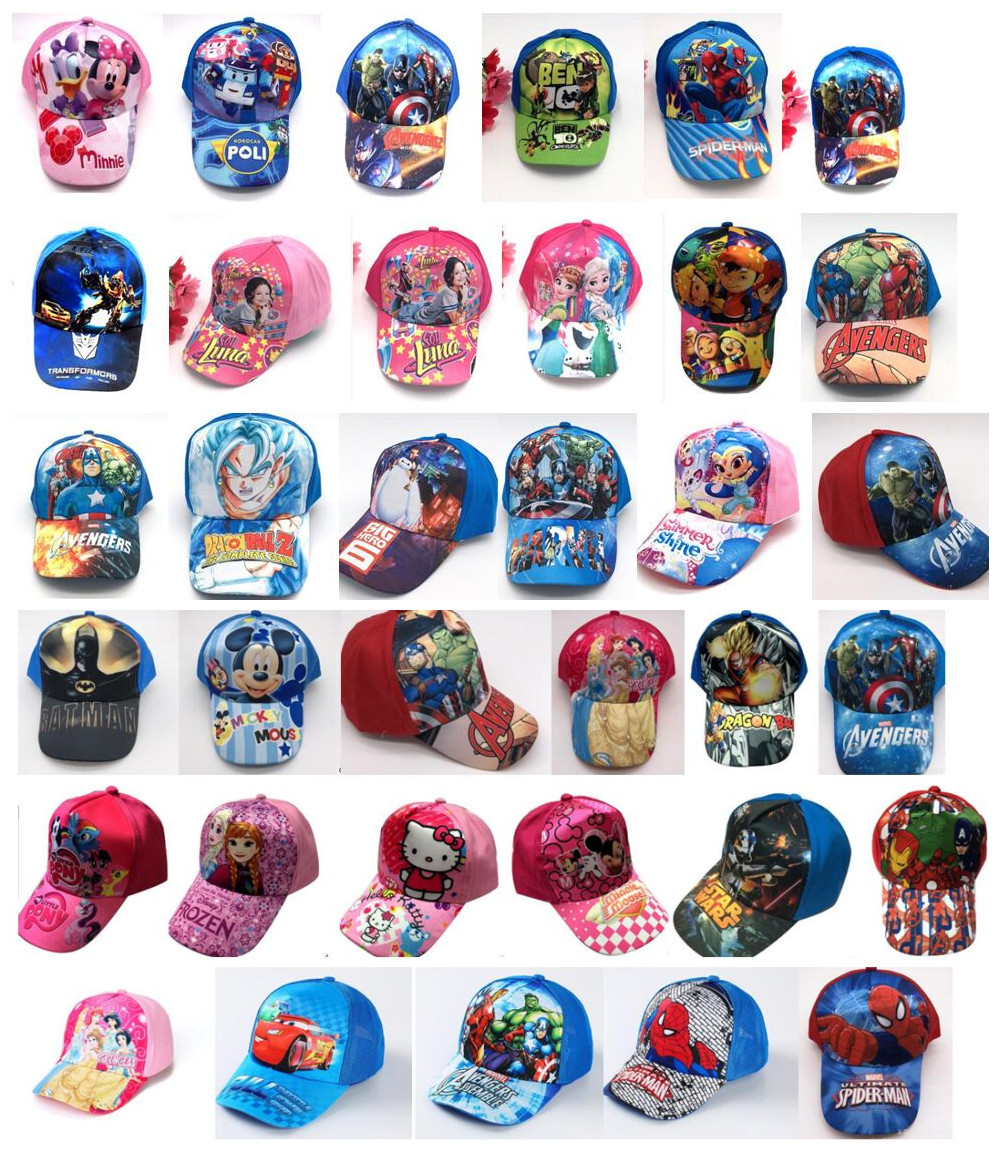 Mother & Kids Boys' Clothing Well-Educated 1pcs Popular Avengers Spider-man Cartoon Kids Boy Lovely Fashion Sun Hat Casual Cosplay Baseball Cap Children Party Gifts