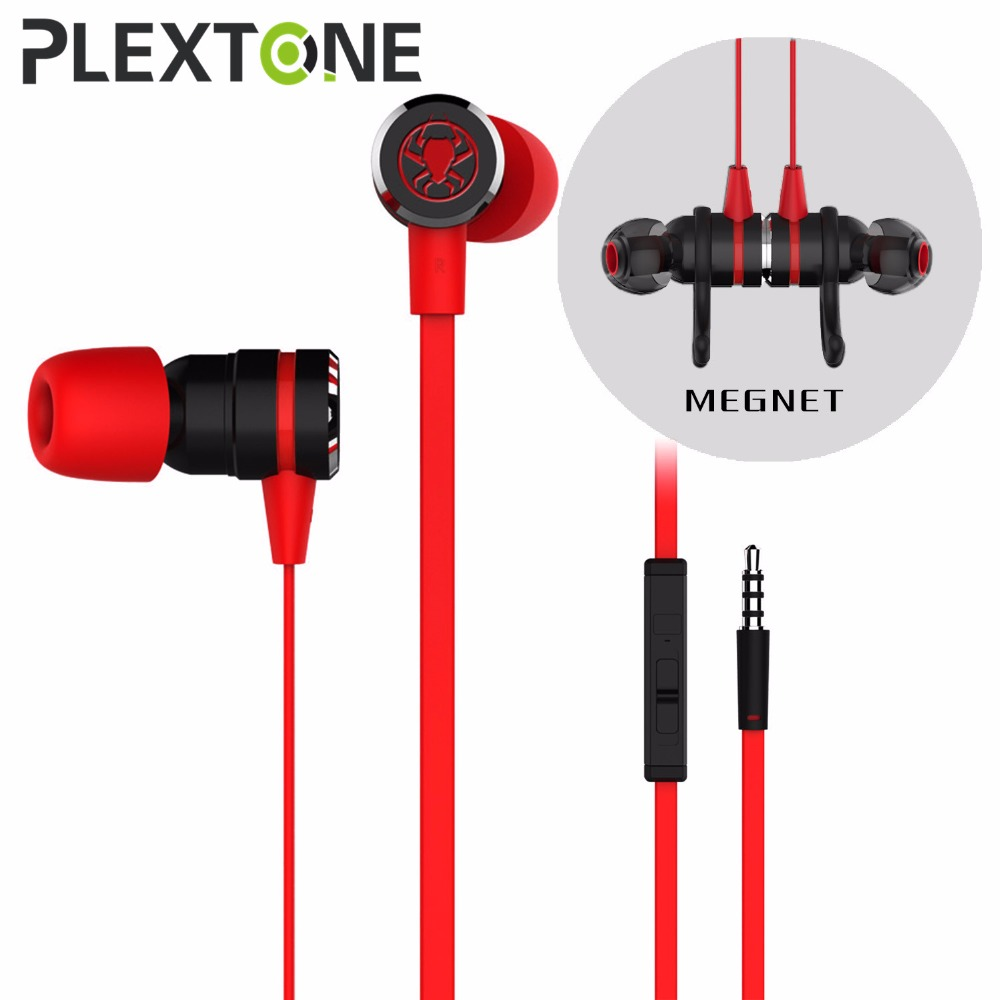 Wired E-Sport Earphone Noise Cancelling Stereo Bass Gaming Earbuds Headphone headset With Mic, 3.5mm Hifi Earbuds and PC Adapte cbaooo dual driver earphone and wired in ear bass stereo earbuds headset with mic headphone hifi noise cancelling earphones
