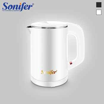 0.6L Travel Mini Electric Kettle 304 Stainless Steel Quietly Cordless Portable 600W Heating Electric Boiler Water Teapot Sonifer - DISCOUNT ITEM  49% OFF All Category