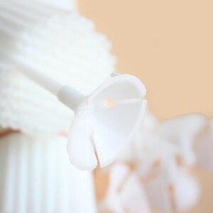 Image 3 - 20/40/60 Pcs 30 cm לבן PVC בלוני מחזיק מקלות עם קליפ לטקס בלון מקל יום הולדת חתונה ספקי צד ילדים המפלגה דקור