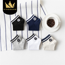 KingDeng Women Socks Funny Simple Short Harajuku Korean Style Ankle Cute Summer Stripe Streetwear Vintage Solid Color Fashion