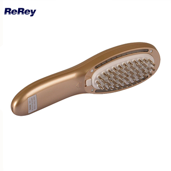 Laser Comb Anti Hair Loss Massage Device Hair Regrowth Treatment Head Scalp Roller Massager Electric LED Comb with Product Tank