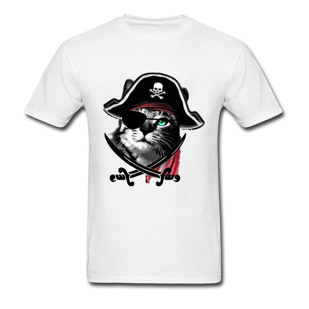 Szalony CATain Jack męska koszulka 2018 zniżki miłośnicy dzień Peru rękaw Crew Neck wszystkie wojskowe topy koszulki normalne bluzy