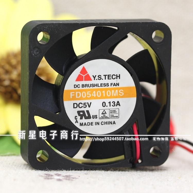 Free Delivery.FD054010MS 4010 5V 0.13A 4CM 2 Line Silent fan|silent fan|fan 2|4cm fan - title=