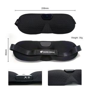 Image 5 - Snore stopper Anti Snore eye mask Prevents snore Black Comfortable Sleep eye mask Snoring Solution Sleep Apnea Sleeping