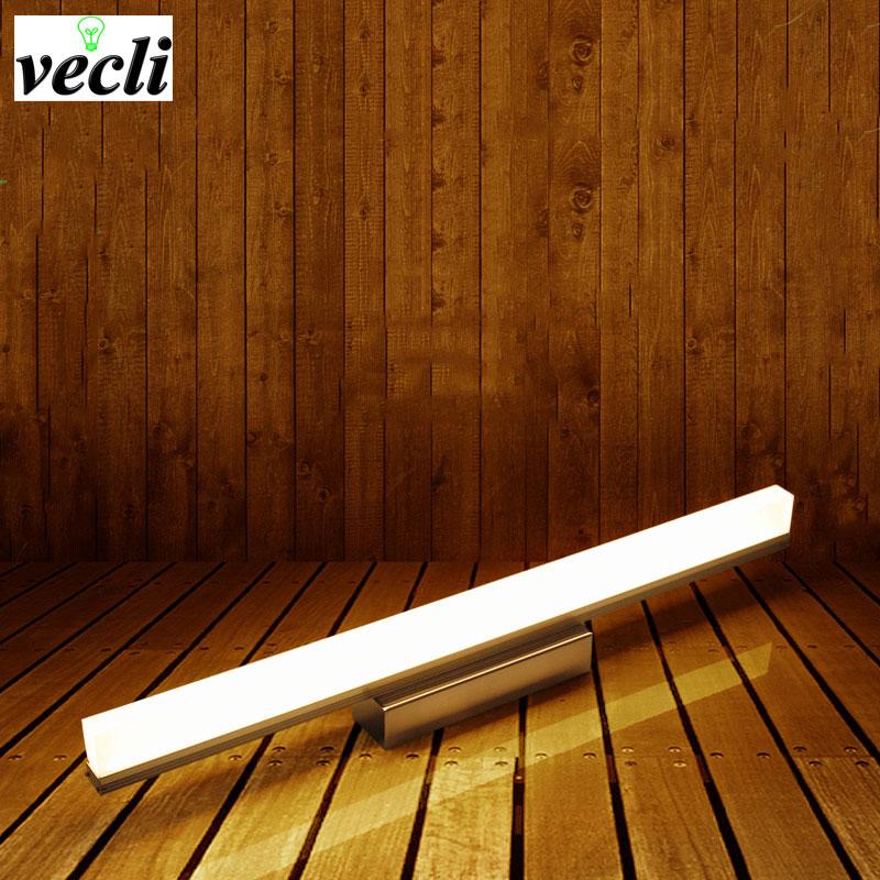 12 w 490 mm led bagno specchio luce frontale led in acciaio inox a parete