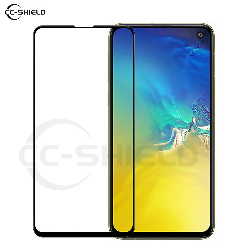 Full Cover Glass for <font><b>Samsung</b></font> Galaxy S10e S <font><b>10e</b></font> S10 e G970 SM-G970U SM-G970F/DS SM G970F/DS Screen Protector Film Tempered Glass image