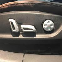 ABS Krom Audi A4 b9 2016 2017 Araba Koltuk ayar Anahtarı Kase çerçeve Paneli Pul Kapak trim