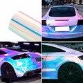 135*30CM Chamäleon Auto Aufkleber Farbe Ändern Chrome Vinyl Film Laser Überzug Auto Wrap Aufkleber Aufkleber Air Release film